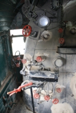 Inside the Cab of UP 814