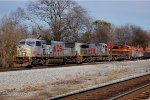 Kansas City Southern SD70MAC #3928, AC44CW #4593 & SD70ACe #4102 lead a westbound out of Norris Yard