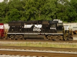 NS GP38-2 #5622, motive power for the Geometry Train, tied down at Norris Yard
