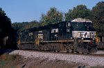 Norfolk Southern ES40DC's 7582 & 7603 lead a Wilsonville (AL) Alabama Power Company coal train