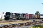 NS 8865 leads NS train A55