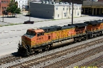 Closeup of BNSF 4945