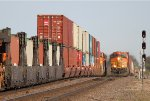 BNSF 5269 East and BNSF 1017 West