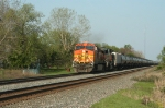 BNSF 5282 and the ethanol empties