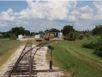 Florida RR Museum Shops and storage yard.