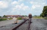 CSX grain train on former main