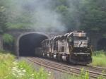 The helpers smoke their way into an already smoky tunnel