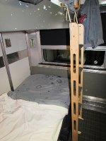 VIA Rail Double Bedroom (night) Allan Manor