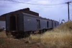 NYC baggage cars in California