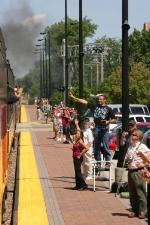 Steam Rail Fans in Chicago