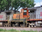 BNSF 3616 is an Odd Sight on a Mainline