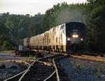 Amtrak 20, the northbound crescent roars through Bolton