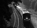 Amtrak 19 highballs for Birmingham at Bolton Road