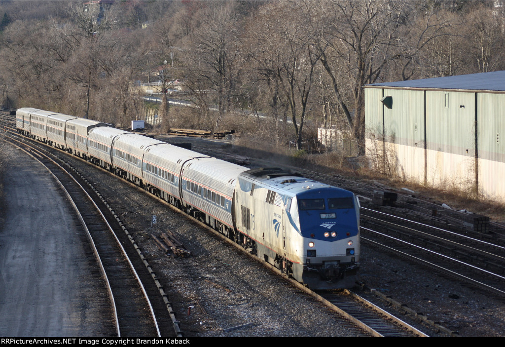 "Train 48 Amtraks ""Lake Shore Limited"""