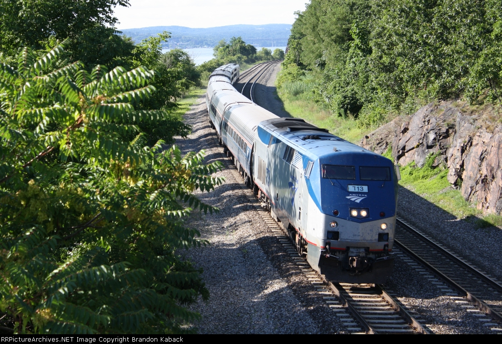 "Amtrak Train 48 ""The Lake Shore Limited"""