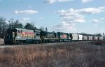 Seaboard System U36B's 1774 & 1775 and SD40-2 #8072 lead a northbound