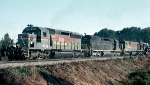 Seaboard System SD40-2 #8041, leading Waycross bound train #329,