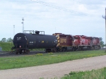 Large Power Assortment to Move a Single Tank Car