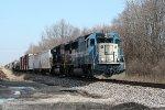 GMTX 9043, southbound NS train 35N