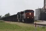 CN 5651, northbound CN coal train