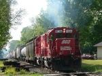 CP 580 departs Winona