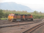 BNSF 4890 at Whitefish.
