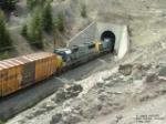 CSX 8716 SD60 entering Muir Tunnel