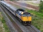 VIA 6419 Leaving Aldershot Station