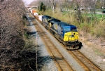 CSX 695 on the Q108 at Sidney Ohio