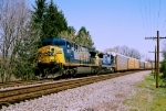 CSX 697 Southbound at Stony Hollow Rd. Moraine hio