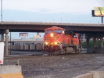 BNSF 5794 Leads an Early Morning Coal Train