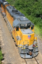 UP GP40-2 1483