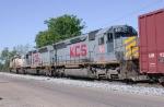 KCS WB freight