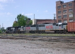 KCS WB freight waiting for a crew