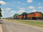 BNSF Rock Train