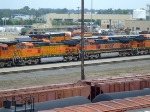 BNSF 4030 and 964