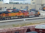 BNSF 5298 and 715