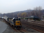 B749 switches acroos the main from the Croton North station
