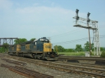 CSX B957 power in the yard