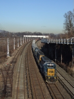 CSX Q431 passes the former GM plant