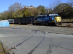 CSX B749 and an old spur