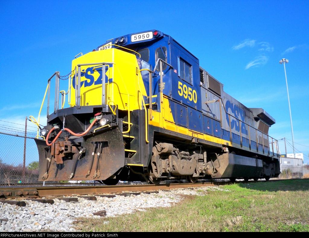 CSXT 5950