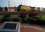 Second train with UP power in a row comes of the Alabama Division