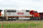 BNSF 8290 still looks good in its warbonett paint