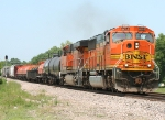 BNSF 8274 running south 15 minutes behind another south bounder