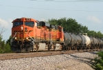 BNSF 5798 leads the Tulsa Lincoln into the yard for a crew change,called it a day after this one but the trains continued rolling