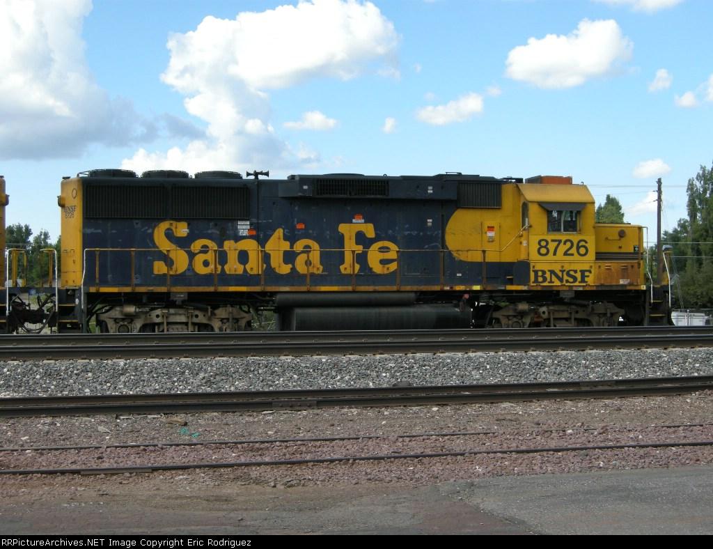 BNSF 8726