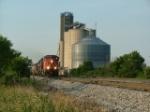 SB CN/IC Train at Gilman Ill