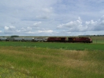 Grain Train on the Prairie