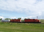 Local Power Switches Grain Cars